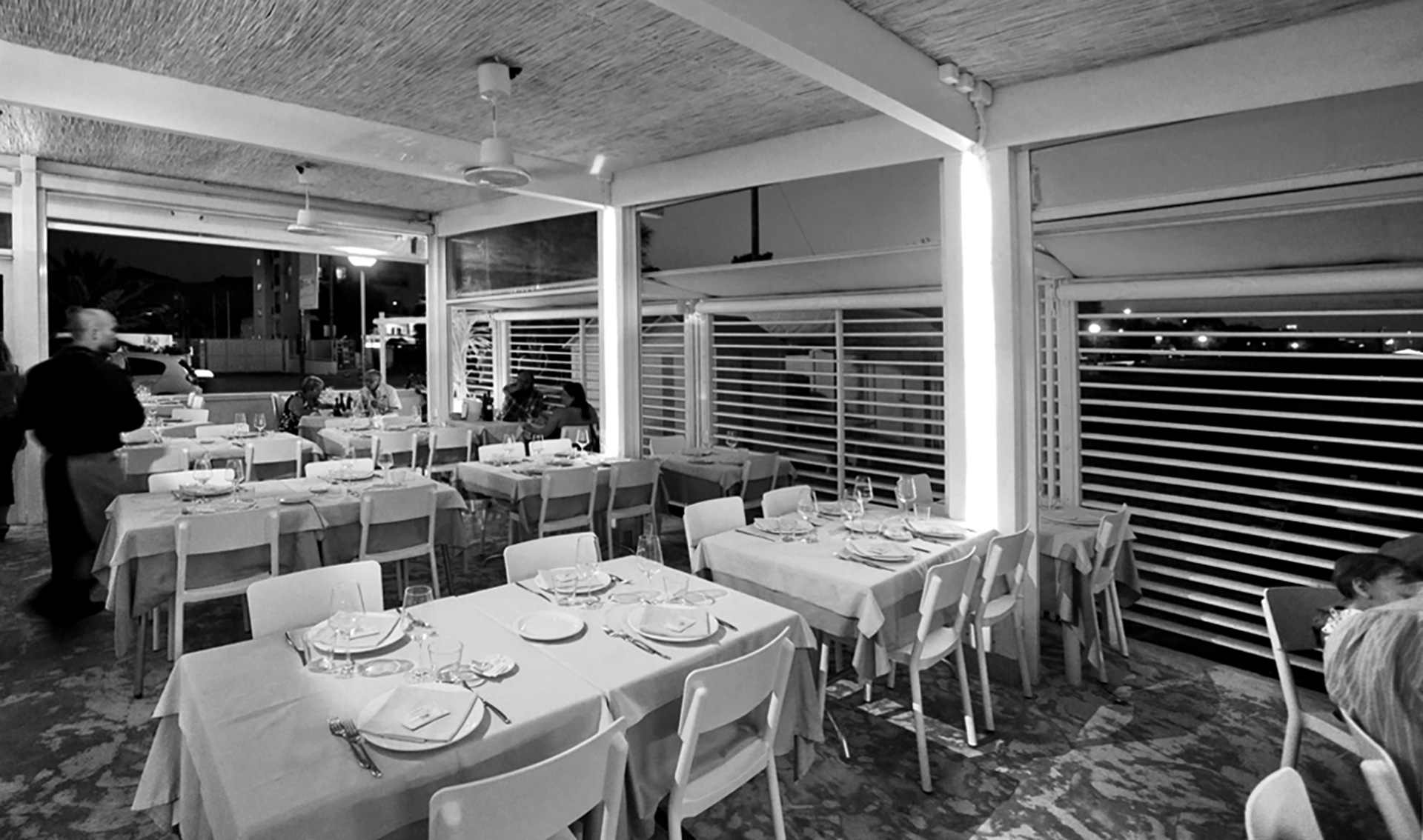 ristorante da ciccio. sala dall'interno
