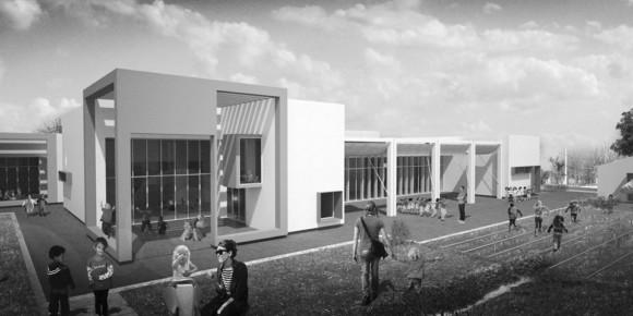 nuova scuola materna a Rimini