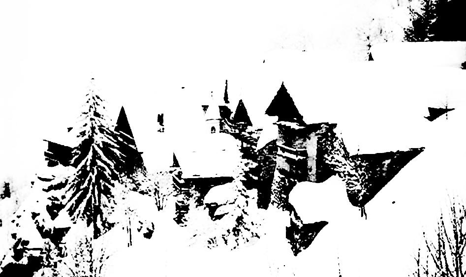 abitare la montagna. suggestioni di agglomerati urbani tipiche della zona di Bardonecchia.