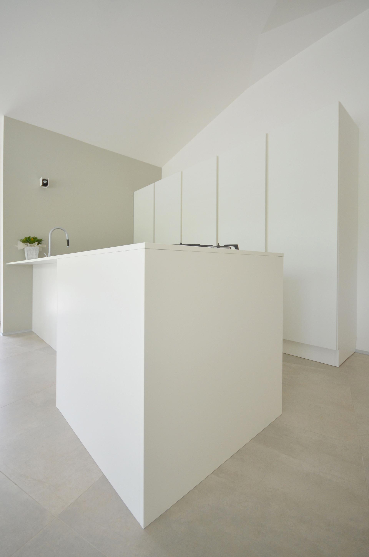 casa studio. la cucina total white