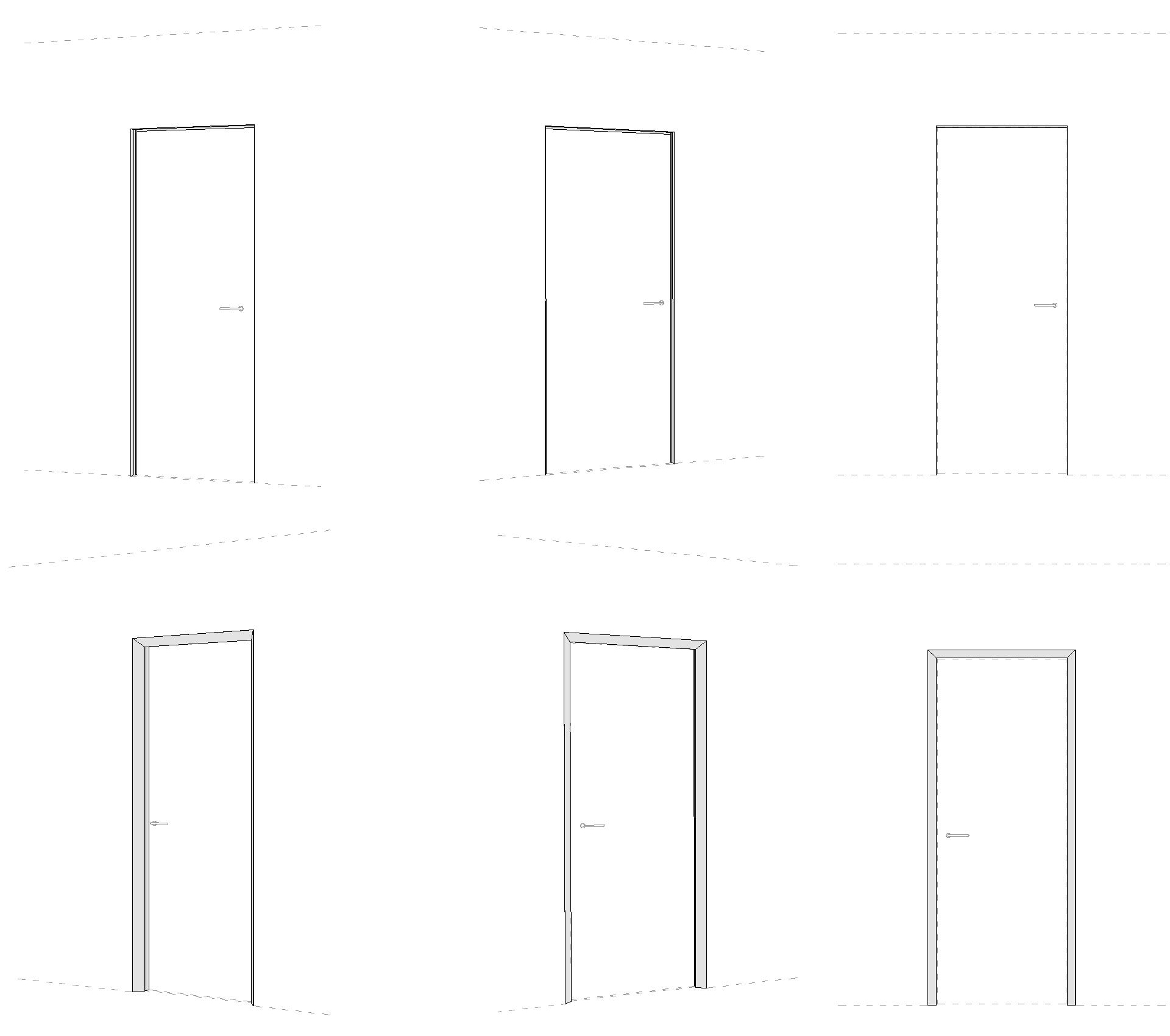 eclisse40 Collection - disegni tecnici brevettati, prospetto e assonometrie prospettiche