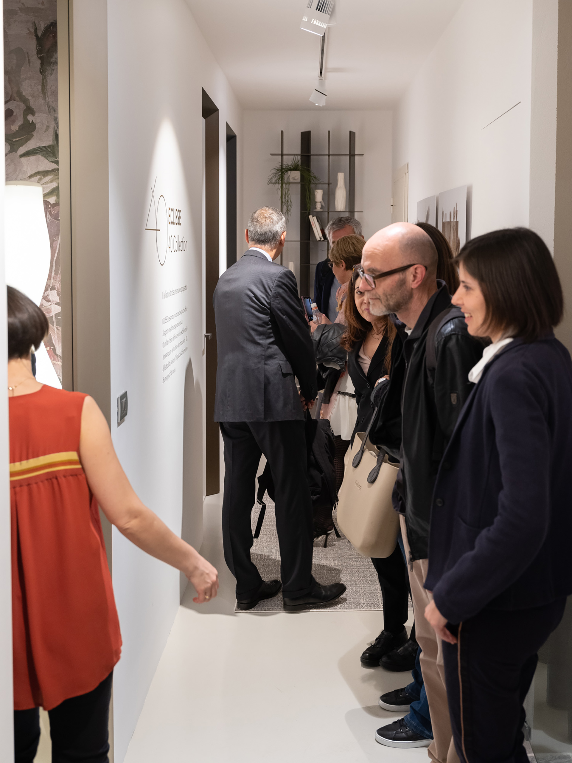 Press Day - via Molino delle Armi 2A Milano - lancio eclisse 40 collection. Le porte eclisse 40 installate