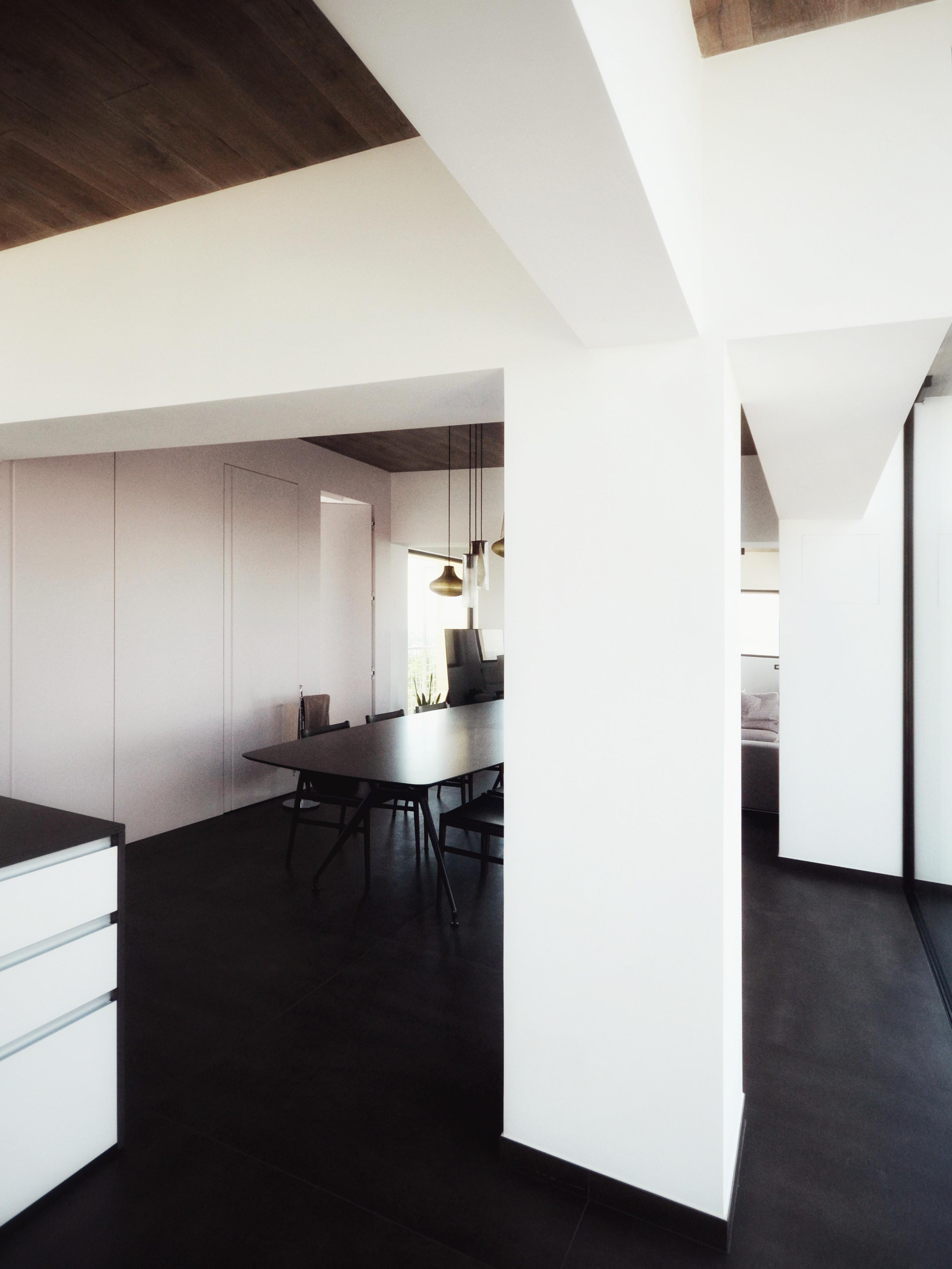 casa MTT FF vista di insieme dalla zona cucina