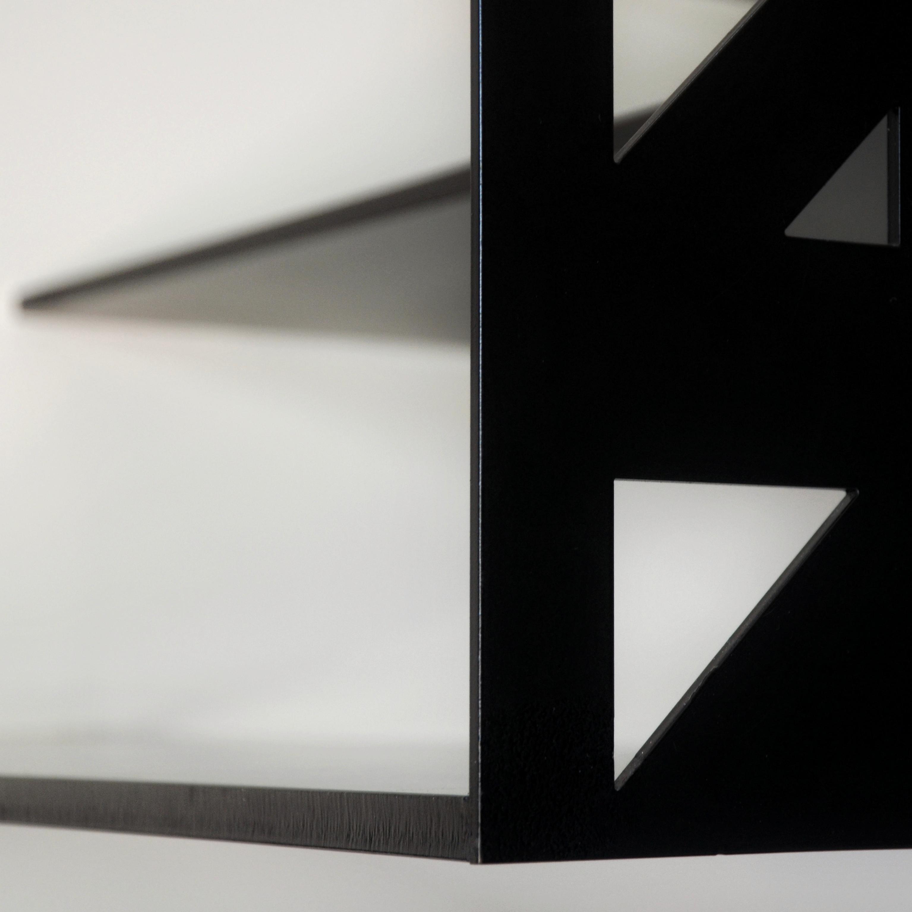 dettaglio della scala realizzata da Sandro Cerioni su disegno dell'architetto francesco valentini